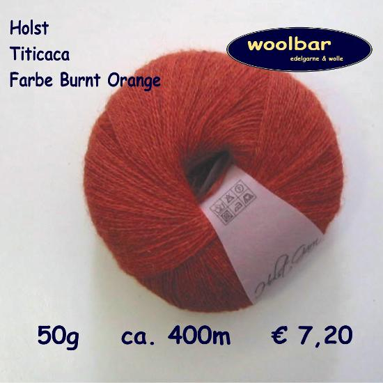 Holst Garne Titicaca Burnt Orange